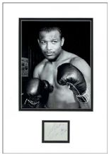 Sugar Ray Robinson Autograph Signed